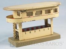 1. Brinquedos antigos - Marklin - Cabine de Comando com 16,00 cm de comprimento e 9,00 cm de altura Bitola 00 Saída para 6 Desvios Década de 1940