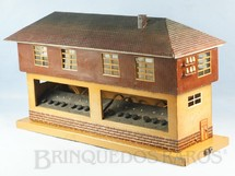 1. Brinquedos antigos - Marklin - Cabine de Comando com 45,00 cm de comprimento e 23,00 cm de altura Bitola 1 Numero 13728:16 Saída para 16 Desvios Década de 1930