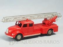 1. Brinquedos antigos - Marklin - Caminhão de Bombeiro Magirus Deutz escada Década de 1960