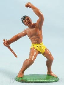 1. Brinquedos antigos - Casablanca e Gulliver - Tarzan de plástico pintado Década de 1970