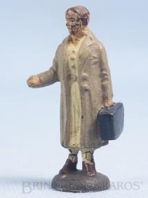 1. Brinquedos antigos - Elastolin - Passageiro Bitola 1 Década de 1930
