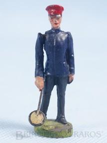 1. Brinquedos antigos - Elastolin - Guarda de Estação Bitola 1 Década de 1930