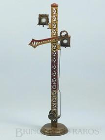 1. Brinquedos antigos - Bing - Sinaleiro de linha com 35,00 cm de altura Bitola 1 Década de 1920