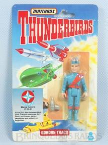 1. Brinquedos antigos - Matchbox - Boneco Thunderbirds Gordon Tracy importado pela Estrela na década de 1990