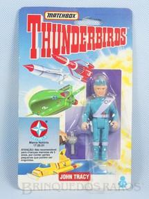 1. Brinquedos antigos - Matchbox - Boneco Thunderbirds John Tracy importado pela Estrela na década de 1990