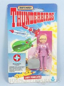 1. Brinquedos antigos - Matchbox - Boneco Thunderbirds Lady Penelope importado pela Estrela na década de 1990