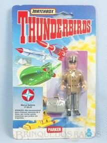 1. Brinquedos antigos - Matchbox - Boneco Thunderbirds Parker importado pela Estrela na década de 1990