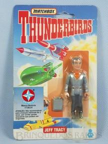 1. Brinquedos antigos - Matchbox - Boneco Thunderbirds Jeff Tracy importado pela Estrela na década de 1990