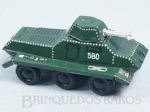1. Brinquedos antigos - H - Tanque de guerra com rodas Panther 12,00 cm de comprimento Década de 1960