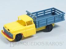 1. Brinquedos antigos - Piloto - Caminhão Ford V8 1963 com 14,00 cm de comprimento Década de 1960