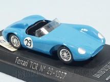 1. Brinquedos antigos - Solido - Ferrari Type 500 TRC 1957 azul Década de 1990
