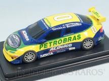 1. Brinquedos antigos - X1000 - Chevrolet Vectra Stock Car brasileira Piloto Caca Bueno 19,00 cm de comprimento Ano 2003