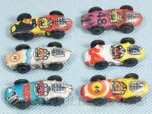 1. Brinquedos antigos - Metalma - Baratinha de corrida com 3,00 cm de comprimento Década de 1960
