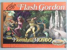 1. Brinquedos antigos - Ebal - Livro em Quadrinhos Flash Gordon nas Florestas de Mongo Edição comemorativa Capa dura 47,00 x 33,00 cm 67 páginas Ano 1979