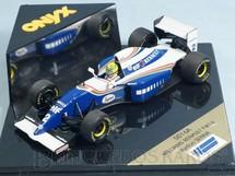 1. Brinquedos antigos - Onix - Williams Renault FW16 Piloto Ayrton Senna Ano 1994