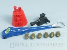 1. Brinquedos antigos - Estrela - Falcon Aventura Míssil Atômico completo com 9 itens Edição 1980