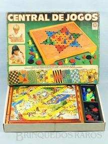 1. Brinquedos antigos - Estrela - Jogo Central de Jogos Ano 1982