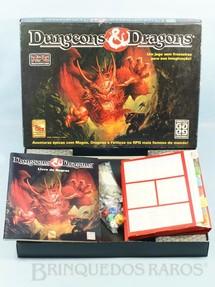 1. Brinquedos antigos - Grow - Jogo de RPG Dungeons and Dragons Completo Perfeito estado Ano 1995