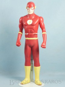 Brinquedos Antigos - Sem identifica��o - Boneco do Flashman The Flash com 37,00 cm de altura Datado 1993