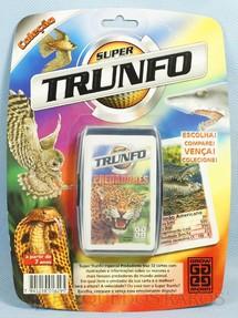 1. Brinquedos antigos - Grow - Jogo Super Trunfo Predadores Blister Lacrado Década de 1990