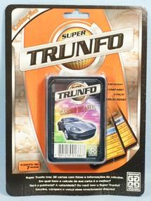 Brinquedos Antigos - Grow - Jogo Super Trunfo Carros de Luxo Blister Lacrado D�cada de 1990