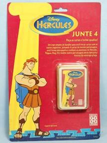 1. Brinquedos antigos - Grow - Jogo de Trunfo Junte 4 Hercules Blister Aberto Década de 1990