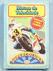 1. Brinquedos antigos - Coluna - Jogo Super Coluna Motos de Velocidade Década de 1980