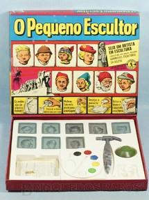 1. Brinquedos antigos - Guaporé - Conjunto O Pequeno Escultor completo Caixa assinada Kraus Década de 1960