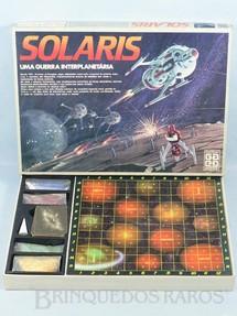 1. Brinquedos antigos - Grow - Jogo Solaris Completo Perfeito estado Década de 1980