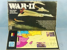 1. Brinquedos antigos - Grow - Jogo War II tabuleiro de encaixe Década de 1980