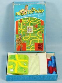 1. Brinquedos antigos - Grow - Jogo Pega Ladrão falta o Manual de Instruções Década de 1980