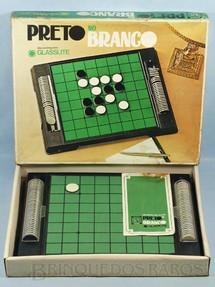 1. Brinquedos antigos - Glasslite - Jogo Preto no Branco Década de 1970