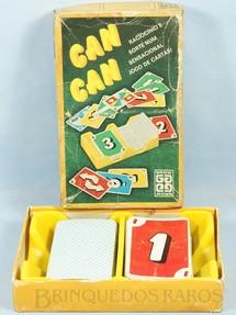 1. Brinquedos antigos - Grow - Jogo Can Can falta o Manual de Instruções Década de 1980
