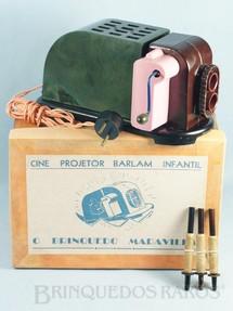 1. Brinquedos antigos - Barlam - Cine Projetor Barlam Infantil O Brinquedo Maravilha com 3 Filmes Década de 1960