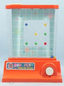 1. Brinquedos antigos - Estrela - Aquaplay Jogo da Velha Ano 1978