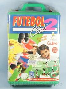 1. Brinquedos antigos - Casablanca e Gulliver - Jogo Futebol Club Gulliver com dois times São Paulo e Santos completo com Campo embalagem lacrada Década de 1990