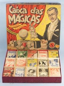 1. Brinquedos antigos - Guaporé - Conjunto Caixa das Mágicas completo com 15 Mágicas diferentes Década de 1960