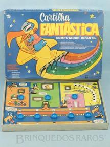 1. Brinquedos antigos - Papri - Cartilha Fantástica Computador Infantil Década de 1990