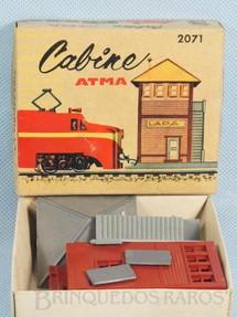 1. Brinquedos antigos - Atma - Cabine de Comando Kit para montar Década de 1970