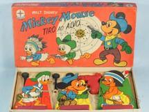 1. Brinquedos antigos - Estrela - Tiro ao Alvo do Mickey Walt Disney Década de 1960