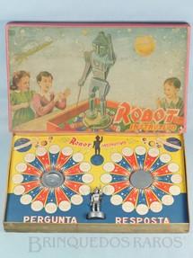 1. Brinquedos antigos - Namur - Jogo de perguntas e respostas Robot Instrutivo Ano 1964