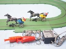 1. Brinquedos antigos - Estrela - Conjunto completo de Derbi-Rama com pistas Transformador e duas Charretes Ano 1968