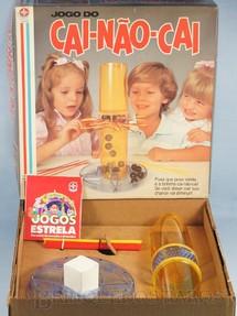 1. Brinquedos antigos - Estrela - Jogo do Cai-Não-Cai completo Ano 1980