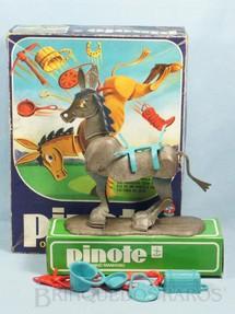 1. Brinquedos antigos - Estrela - Jogo Pinote o Burrinho Manhoso Ano 1980