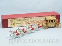 1. Brinquedos antigos - Matchbox - Carruagem da Coroação da Rainha Elizabeth II Large Coronation Coach Ano 1956