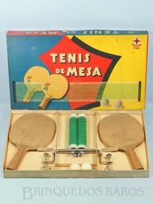 1. Brinquedos antigos - Estrela - Jogo Tenis de Mesa Ano 1962