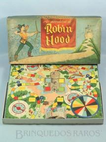 1. Brinquedos antigos - Coluna - Jogo As Aventuras de Robin Hood Ano 1962