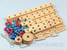 1. Brinquedos antigos - Estrela - Conjunto de Montar Monte-Bras caixa número 2 completa com 90 peças Década de 1960