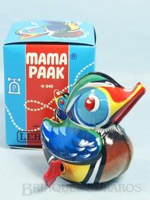1. Brinquedos antigos - Lehmann - Pato Mama Paak com 10,00 cm de altura Década de 1960