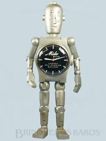 1. Brinquedos antigos - Sem identificação - Robot Display relógios Mido com 70,00 Cm de altura Década de 1940
